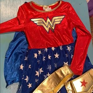 Child's Wonder Woman Halloween Costume